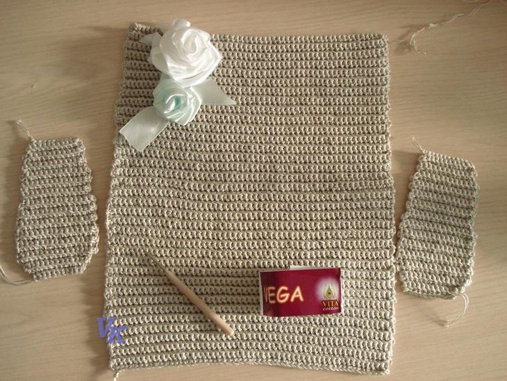 Вязание: клатч (сумки, клатч,
